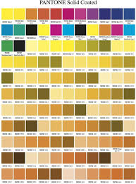 Pantone Matching System Online Charts Collection
