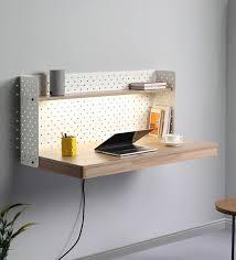 fold wall mounted writing table in