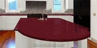 rosso quartz countertop red quartz stone kitchen countertops island tops india