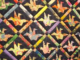 Paper cranes quilt from The Quilting Board. Possibly originally ... & Paper cranes quilt from The Quilting Board. Possibly originally from an  Australian quilting magazine? Japanese Quilt PatternsQuilt ... Adamdwight.com
