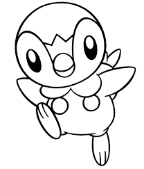 Piplup Free Coloring Pages On Art Coloring Pages