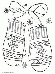 Subscribe, relax, learn the rainbow colors and enjoy coloring with us. Winter Coloring Pages Free Printable Winter Scene Sheets