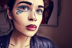 pop art ic makeup tutorial 1eede42aa3a3e61b740e89eb3bed13f3 60ad0cdb55e7764967c4c34a57258960 tutorial ic book character