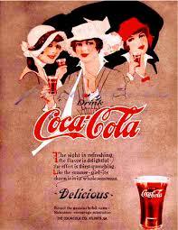 Vintage Coca Cola Advertising Giclee Print Type Q