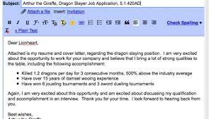 Sample Email Sending Resume Template. cover ...