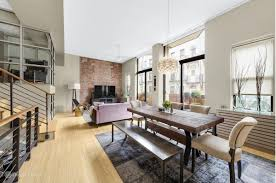Lane Gramercy Park Bedroom Furniture Chic Gramercy Loft Stretching Over Two Floors Hits The Market For