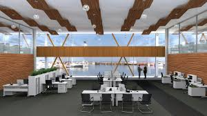 modern open plan interior office space. Open Plan Office Workstations Promote Collaboration And Productivity Modern Interior Space
