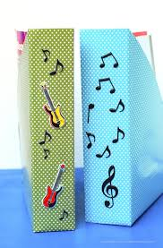 Magazine Holder From Cereal Box Literacy Craft Tutorial DIY Musical Magazine Holder Latinas For 77