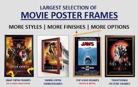 standard size posters swingframe designed movie poster frames all movie poster sizes