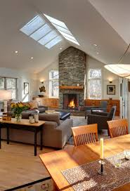 Vaulted Ceiling Decorating Living Room Vaulting A Ceiling Rancher Renovations Pinterest Vaulted