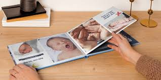 Baby Photo Album Book How To Create Babys First Photo Album Bonusprint Blog