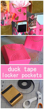 diy back to school projects for teens and tweens do it yourself magnetic duck tape