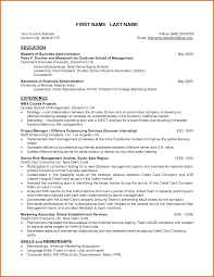 Mesmerizing Mba School Resume Samples for Your Resume Templates Mba  Graduates