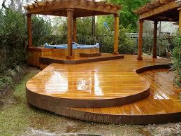 wooden patio floor deck plans free how to build platform backyard designs design ideas photos simple