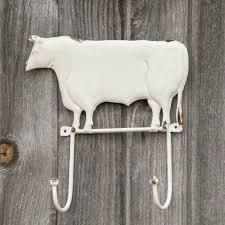 cow wall hook rack