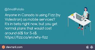 All of videotron's phones and plans in one clean list. Videotron Anyone In Canada Is Using Fizz By Videotron As Mobile Services It S In Beta Right Now But You Get Normal Plans That Devrant