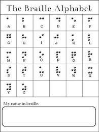 List Of Pinterest Braille Alphabet Pictures Pinterest