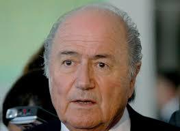 Bildergebnis für Sepp Blatter angeschlagen