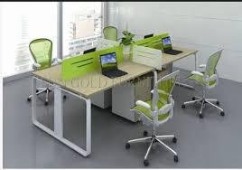 office workstation desks. 4 Person Melamine Staff Desk/Particle Office Table/Office Workstation (SZ-OD130) Desks K