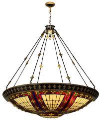 kitchen attractive chandelier tiffany style 8 popular inverted pendant ceiling light fixture winning lights australia hanging