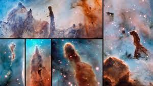 """Calamidad cósmica"""": qué dicen del Universo las espectaculares imágenes de  los pilares de la destrucción - BBC News Mundo"""