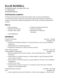 community health resume best community health advocate resumes resumehelp