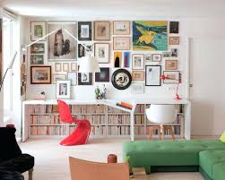 home office library ideas. Small Home Library Design Ideas Trendy Built In Desk Light Wood Floor Office Photo With R