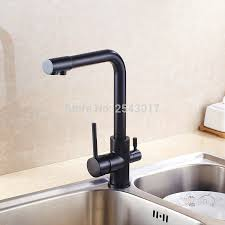 Wholesale Black Kitchen Flexible Faucet Drinking Water Faucet