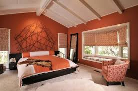 orange wall paintPumpkin Color Palette Warm Hues and Fall Decorating Ideas for
