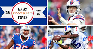 Fitz On Fantasy 2019 Buffalo Bills Fantasy Preview The