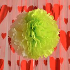 Crepe Paper Flower Balls 15pcs 12inch Tissue Paper Pompoms Flower Balls Crepe Paper