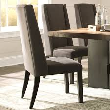wing back ash grey brown wood fabric parsons dining chairs set of 2 today overstock 19533902