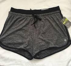 Tek Gear Womens Athletic Shorts Size S M L Gray Black Workout S16 Mp Ebay