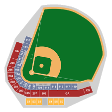 Kannapolis Intimidators Seating Chart Tickets Columbia Fireflies At Kannapolis Intimidators