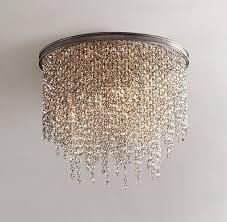 flush mount bedroom lighting webbkyrkan pertaining to brilliant with regard to modern crystal flush mount
