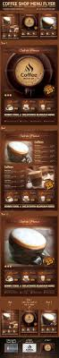 Coffee Shop Brochure Template 24 Best Coffee Shop Flyer Print Template PSD Images On 8