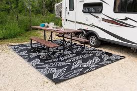 rv camper outdoor rugs