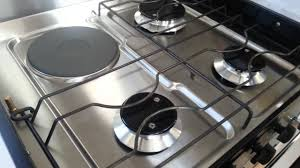 Electric gas stove Nepinetwork Setting Up Combined Electric And Gas Cooker Youtube Setting Up Combined Electric And Gas Cooker Youtube
