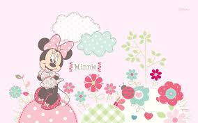 Minnie Mouse Bedroom Wallpaper 48 Units Of Wallpaper Minnie Mouse