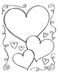Small Picture Coloring Pages Of Hearts With Wings Amazing Heart Coloring Pages