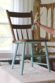 best paint for outdoor furniturePainted Chair for Outdoors  Love Grows Wild