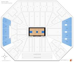 Wintrust Arena Seating Chart Concert Wintrust Arena Depaul Seating Guide Rateyourseats Com