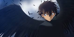 anime characters with wings boy. Perfect Boy Anime Boy With Black Wings Picture In Characters O