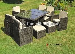 space saving patio furniture. Outdoor Rattan Cube Set Dining Set/rattan Chair With Hidden Ottoman/space Saving Patio Space Furniture E