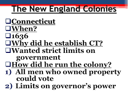 THE THIRTEEN ENGLISH COLONIES - ppt download