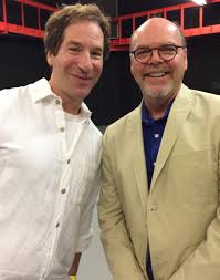photo gallery word up long island litfest two funny guys dan zevin and barry dougherty litfest emcee and reader