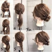 簡単ヘアアレンジくるりんぱをマスターして普段も結婚式も髪 髪型