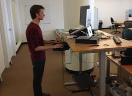 Stylish Stand Up Table Ikea Hack A Standing Desk From Ikea