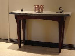tables for foyer. Custom Made Foyer Table / Stone And Wood Tables For H