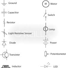 simple circuit diagram symbols ireleast info electronic circuit diagram symbols the wiring diagram wiring circuit